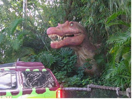 Universal Islands of Adventure's Jurassic Park River Adventure