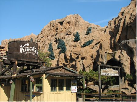 The Knott's Timber Mountain Log Ride