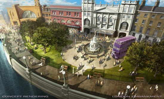 London Embankment at Universal Studios Florida