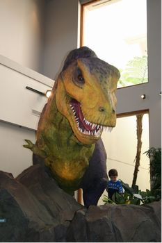 Jurassic Park Discovery Center photo, from ThemeParkInsider.com