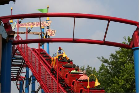 Photo of Woody Woodpecker's Nuthouse Coaster
