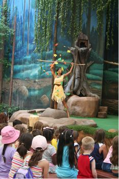 Photo of Pocahontas and Her Forest Friends