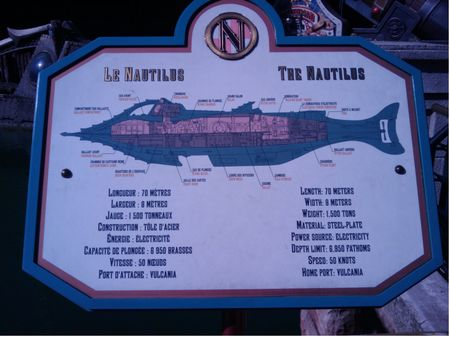 Schematics of the Nautilus