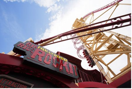 Hollywood Rip, Ride, Rockit photo, from ThemeParkInsider.com