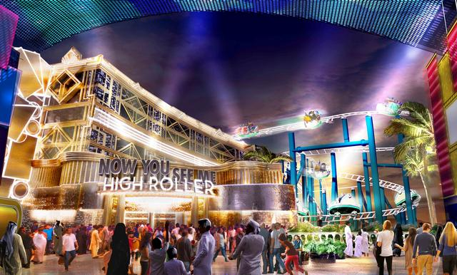 Now You See Me: High Roller at motiongate Dubai