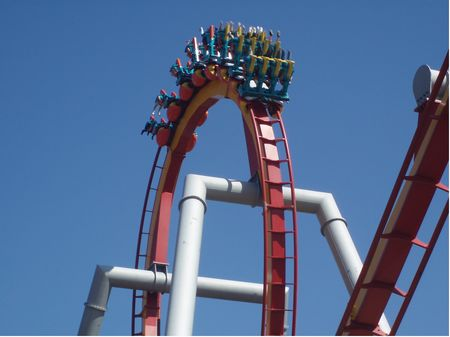 Silver Bullet photo, from ThemeParkInsider.com