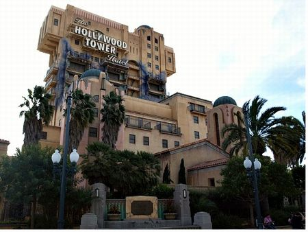 Disney California Adventure's Twilight Zone Tower of Terror