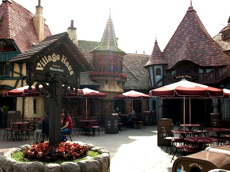 Disneyland's Village Haus