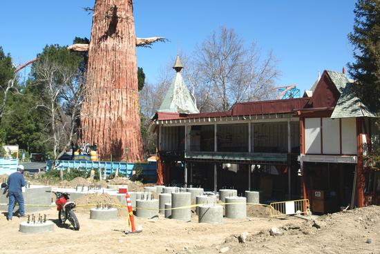 Future site of the Full Throttle station
