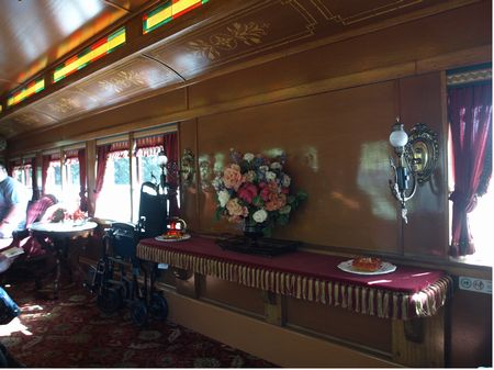 Inside the Lilly Belle