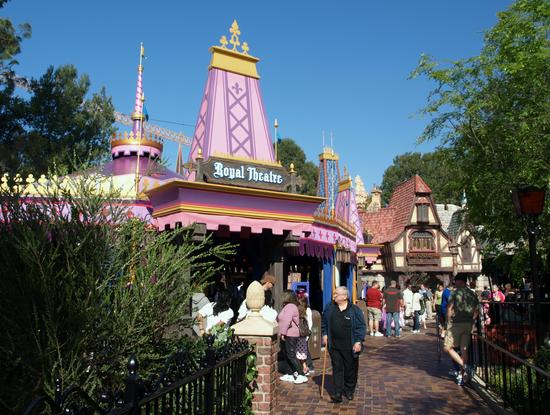 Fantasy Faire Royal Theatre photo, from ThemeParkInsider.com
