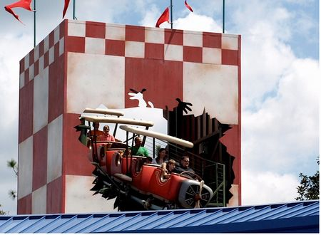 The Barnstormer photo, from ThemeParkInsider.com