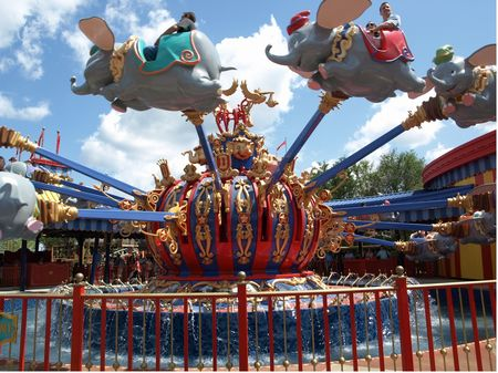 Dumbo The Flying Elephant At Walt Disney World S Magic Kingdom
