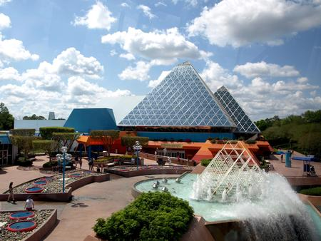 Imagination pavilion at Epcot