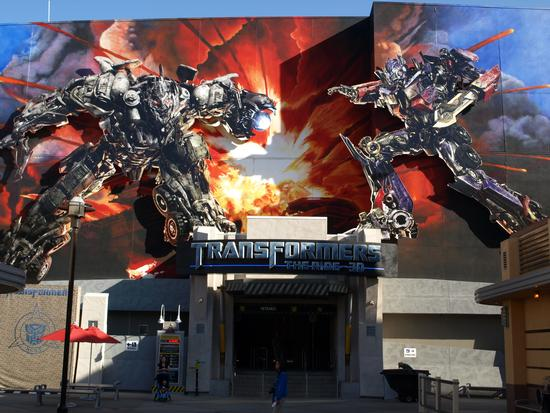 Photo of Transformers: The Ride 3D