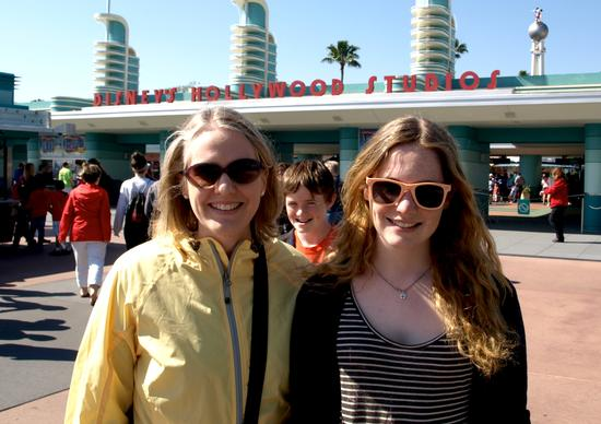 Photobombing at Disney's Hollywood Studios