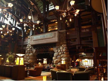 Location Is The Attraction At Disney S Grand Californian Hotel