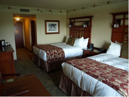 Grand Californian Hotel room