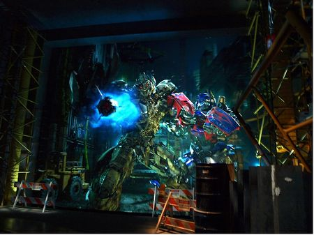 Transformers: The Ride 3D at Universal Studios