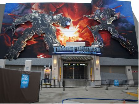 Transformers: The Ride 3D entrance
