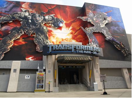Transformers: The Ride 3D at Universal Studios Hollywood