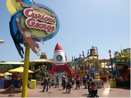 The Adventures Of Curious George photo, from ThemeParkInsider.com