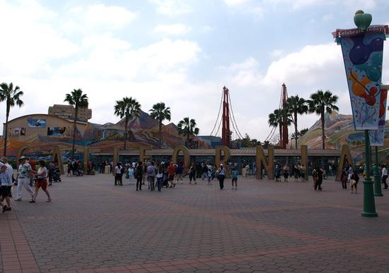 California Adventure's old entrance