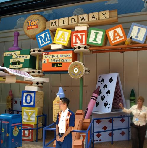 Toy Story Midway Mania photo, from ThemeParkInsider.com