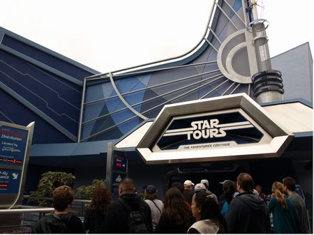 Star Tours 2 at Disneyland