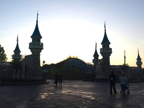 New Fantasyland, at dawn