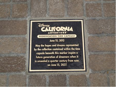 DCA rededication plaque