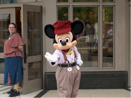 Mickey Mouse on Buena Vista Street