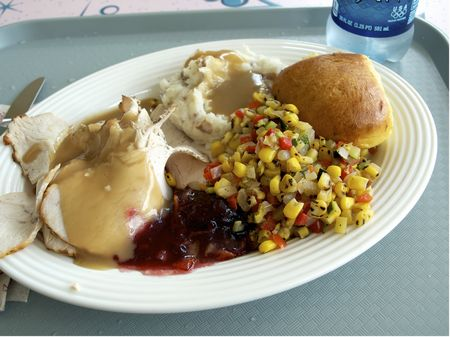 Roast turkey at Flo's