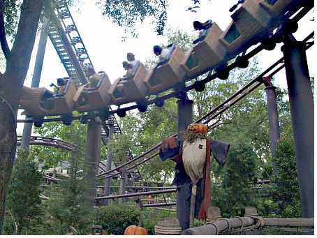 Flight of the Hippogriff photo, from ThemeParkInsider.com