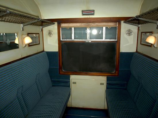 Hogwarts Express compartment
