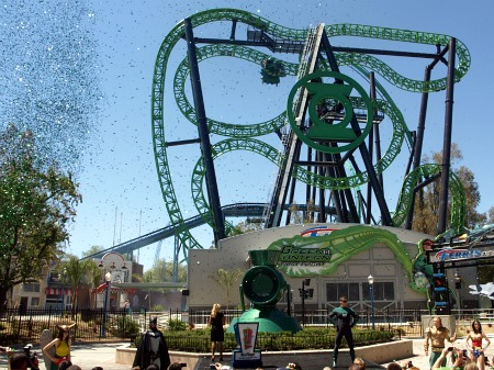 Green Lantern: First Flight photo, from ThemeParkInsider.com