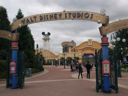 Entrance to Walt Disney Studios Park