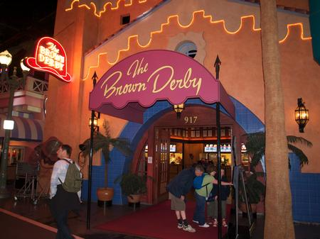 The Brown Derby?