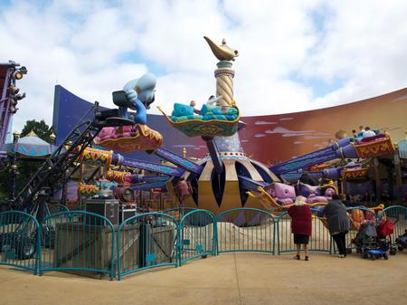 Photo of Flying Carpets over Agrabah