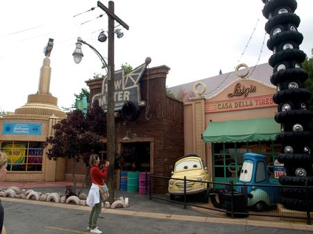 Cars Land Paris, such as it is