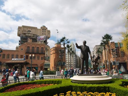 The Partners statue at Walt Disney Studios Park