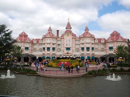 The Disneyland Hotel in Paris