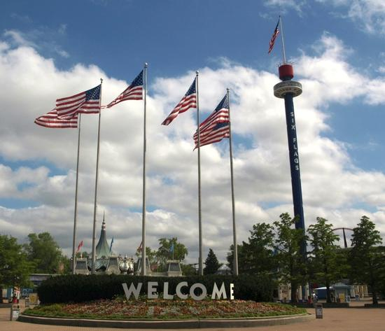 Six Flags Great America photo, from ThemeParkInsider.com