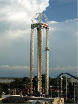 Power Tower photo, from ThemeParkInsider.com