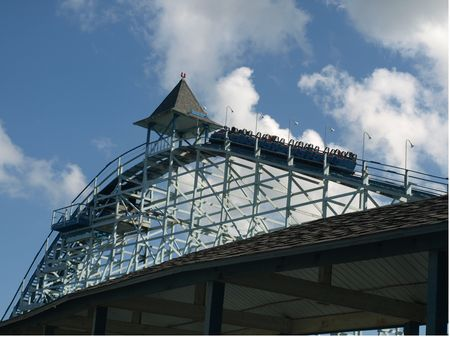 Blue Streak photo, from ThemeParkInsider.com
