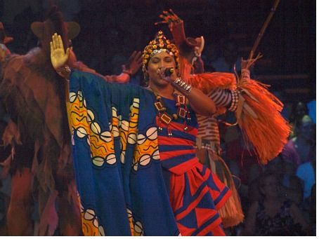 Soloist at Festival of the Lion King