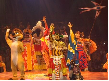 The Lion King company