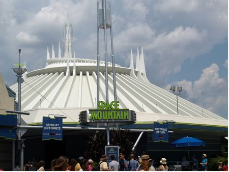 Walt Disney World Magic Kingdom's Space Mountain