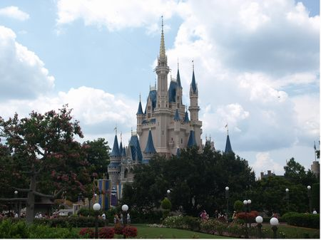 Cinderella's Castle in the Magic Kingdom at Walt Disney World