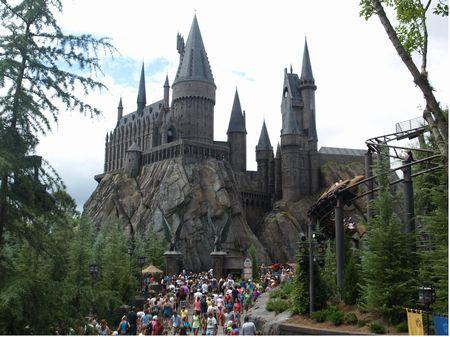 Hogwarts Castle at Universal Orlando's Islands of Adventure theme park